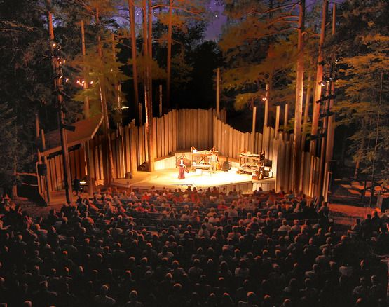 "Noted among ""10 Best: Outdoor Concert Venues you Shouldn't Miss!"" The American Folklore Theatre, (aka Northern Sky Theater) is located within Peninsula State Park in Door County, WI http://www.10best.com/interests/travel-features/10best-outdoor-concert-venues-you-shouldnt-miss/"