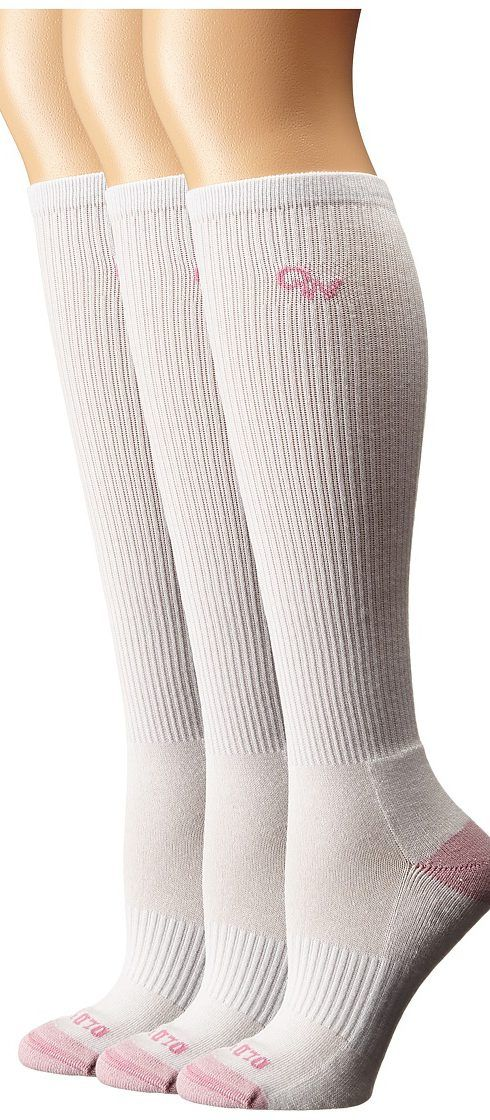 Old West Boots 3-Pack Over the Calf Socks (White/Pink Toe) Women's Crew Cut Socks Shoes - Old West Boots, 3-Pack Over the Calf Socks, OWS101, Footwear Socks Crew Cut, Crew Cut, Socks, Footwear, Shoes, Gift, - Fashion Ideas To Inspire