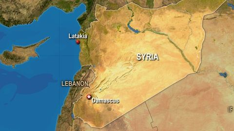 Image result for Map of Latakia, Syria