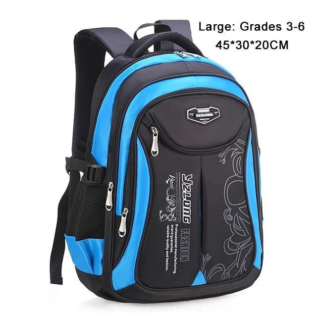 Orthopedic Backpack Primary School Students Bags for Boys Girls Kids Travel 2019