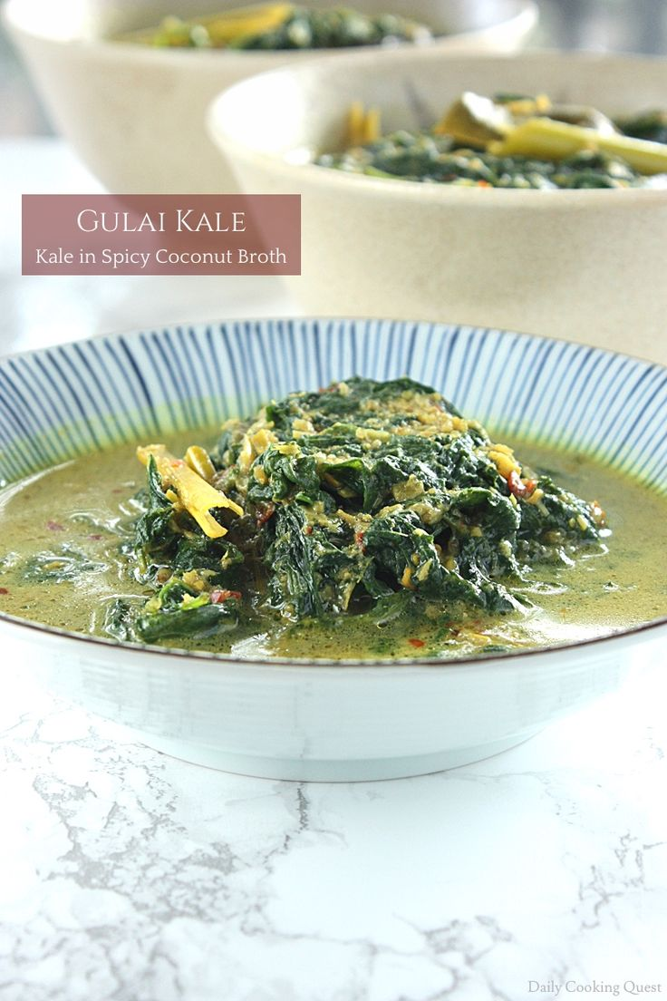 Kale is not a commonly found vegetables in Indonesia. This dish originally either uses cassava leaves (Indonesian: daun singkong) or young ferns (Indonesian: daun pakis), but both are pretty much impossible to find in the States. I used to substitute with spinach, but I found out that the recipe works out so much better with …