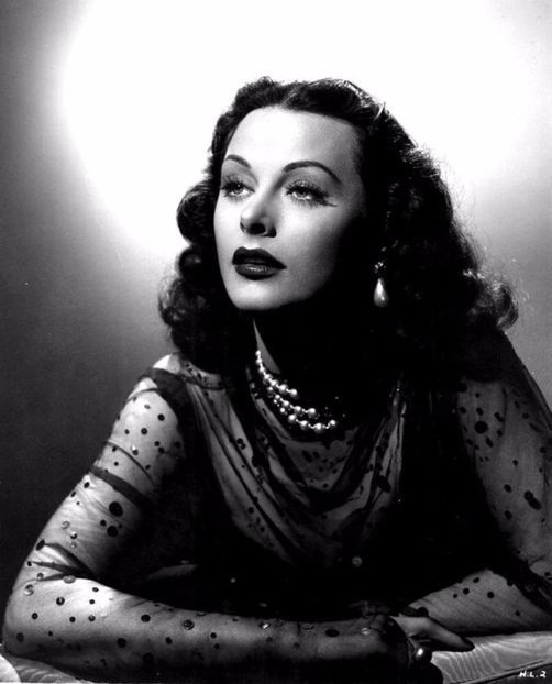 the conspirator - Hedy Lamarr