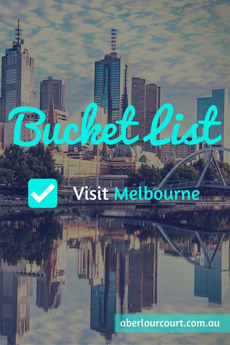 Melbourne Travel Bucket List #BucketList #Wanderlust