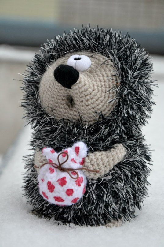 Crochet PATTERN hedgehog by magicfilament on Etsy