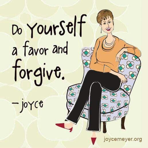 Forgiveness, Joyce Meyer