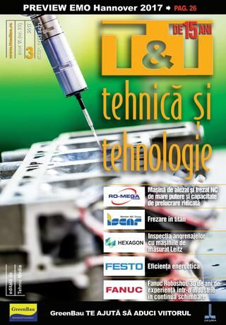 Revista T&T Tehnica și Tehnologie nr. 3/2017 (nr. 93)