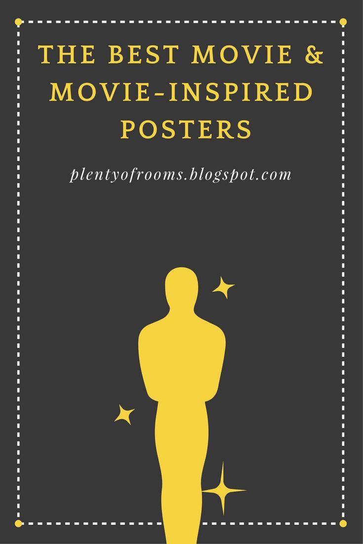 Najciekawsze plakaty i dekoracje filmowe do domu w 3 kategoriach