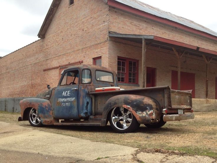 1953 5 Window Rat Rod truck