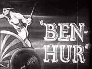 """Ben-Hur ~ The TCM page for the 1925 version of """"Ben-Hur."""""""