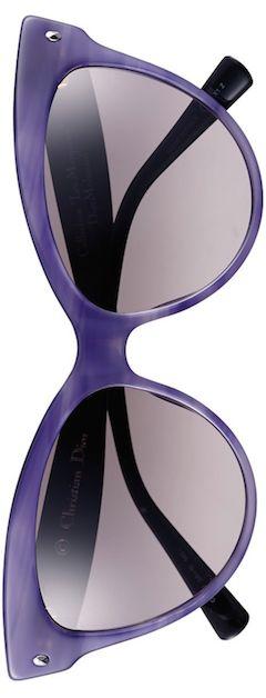 DIOR (Beauty) Mohotani 58mm Cat Eye Sunglasses Stripe/Violet