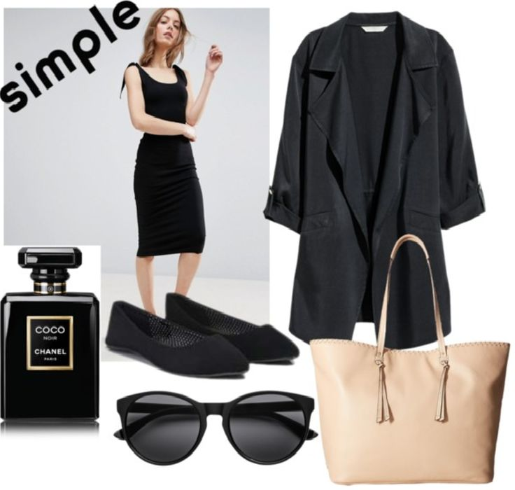 Airport travel outfit #ootdmeco #spring #minimalism #monochromatic #classic