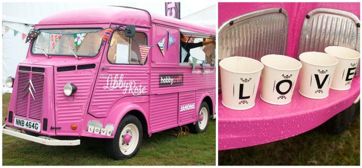 hobbycraft pink bus