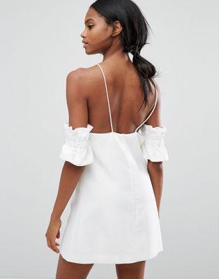 C/meo Collective Double Take Mini Dress