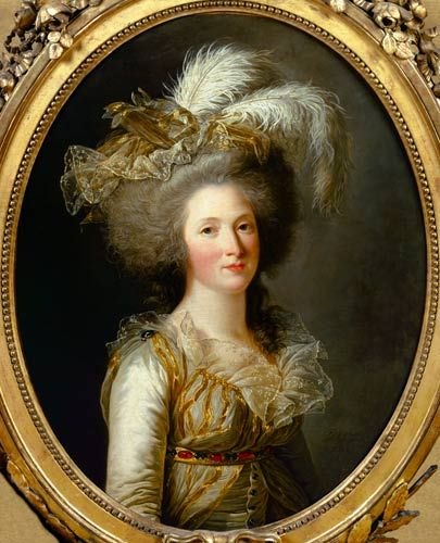 Adélaide Labille-Guiard - Elisabeth of France, called Madame Elisabeth, 1788