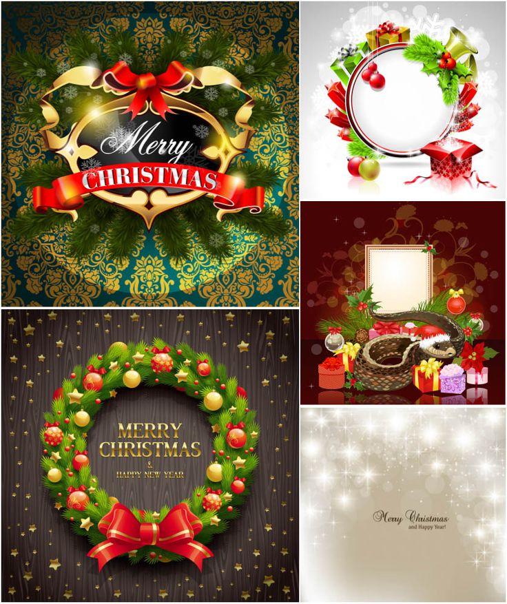 Merry Christmas designs vector 182 best Christmas