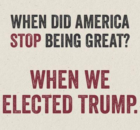 Make America Smart again!!  Impeach!!