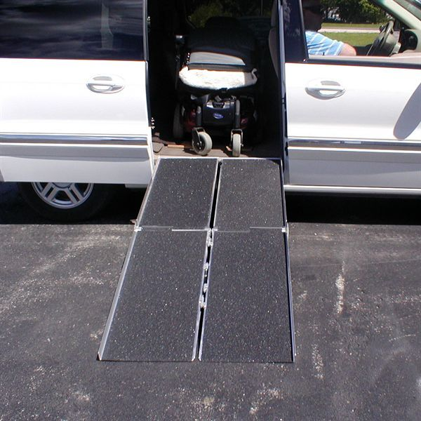 multifold portable wheelchair ramps from pvi