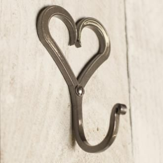 Forged Heart Hook from www.jim-lawrence.co.uk #valentine