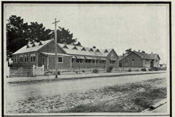Central New Brighton School, New Brighton, Christchurch, New Zealand 1920's