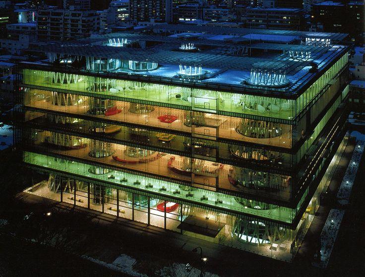 Médiathèque de Sendai / Toyo Ito