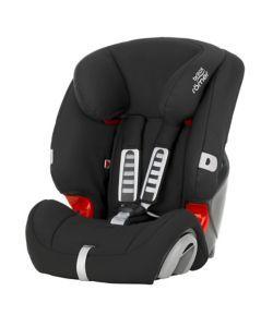 Britax Romer Evolva 1-2-3 High Back Booster Car Seat with Harness - Cosmos Black