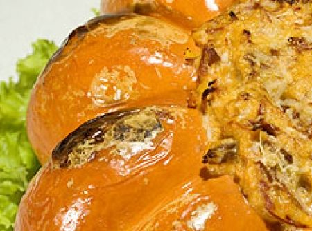 Carne seca na moranga - Veja mais em: http://www.cybercook.com.br/receita-de-carne-seca-na-moranga.html?codigo=35199