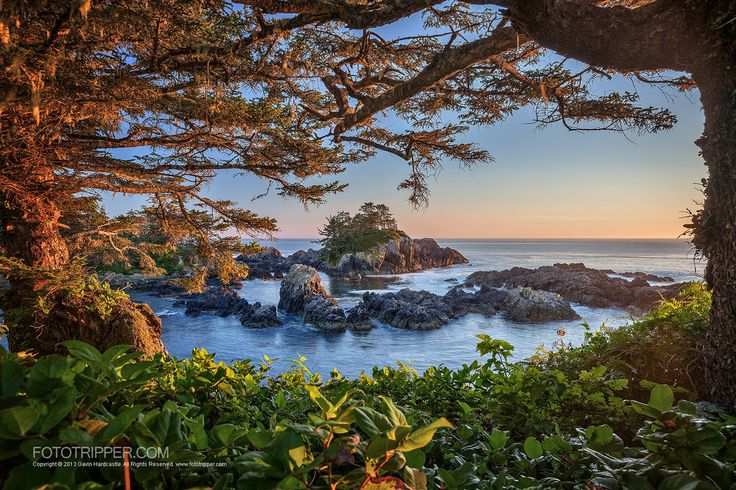 Amphitrite Point in Ucluelet, BC, Canada. #travel-paradise divine, canada
