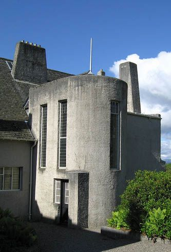 Hill House, Helensburgh, Scotland [Charles Rennie Mackintosh 1902-1904] was designed and built as the family home of Walter Blackie of the Scots publishing house Blackie & Son. Widely regarded as one of the UK's most important 20th Century buildings, it uniquely jumps the cultural chasm between Arts& Crafts and Modern architectural styles. Listed Grade A, it was donated to the National Trust For Scotland in 1982.