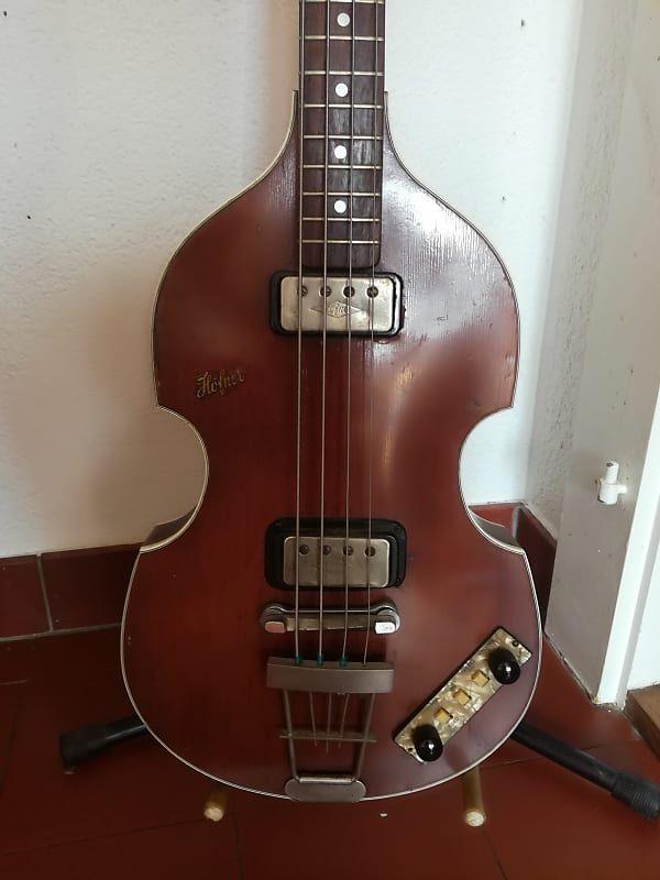 Hofner 500 1 Violin Bass Sunburst 1961 Reverb Bass Violin Sunburst