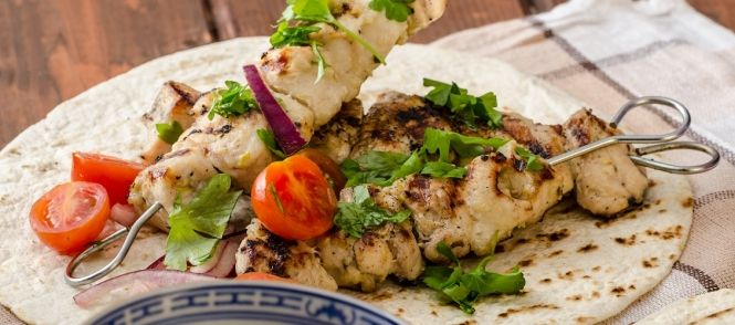 Echt een lekker grieks vleesgerecht, ook erg lekker op de barbeque