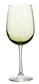 Olive Wine Glass/ 18.5 oz - Add some color to your summer dinner parties! 99 point 99 cents each
