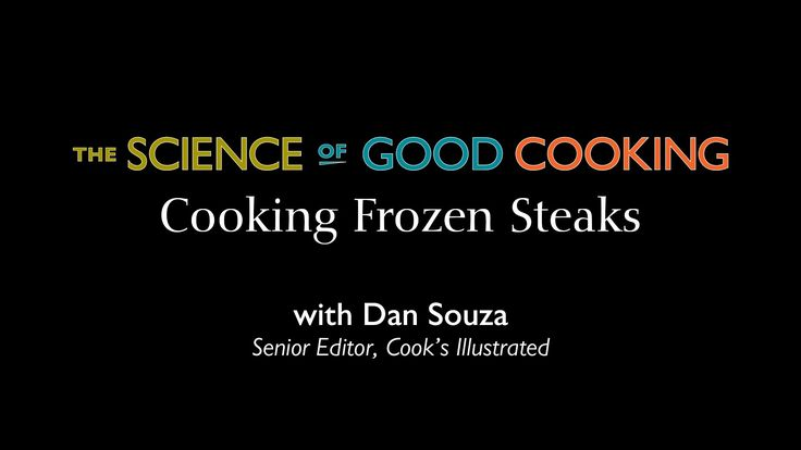 Buy the COOK'S ILLUSTRATED MEAT BOOK: http://amzn.to/1Bbpdde THE SCIENCE OF GOOD COOKING: http://amzn.to/1brcplE Conventional wisdom holds that frozen steaks...