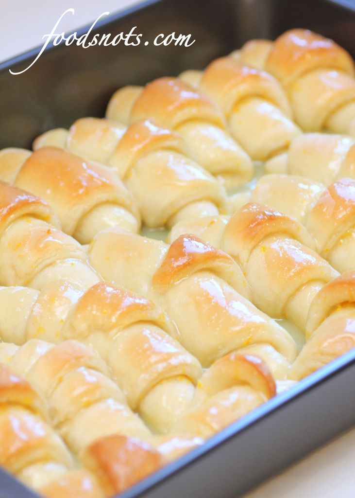 Low Calorie Orange RollsHoliday Breakfast, Fluffy Orange, Sour Cream, Baking Orange, Low Calories, Recipe Snob, Crescent Rolls, Orange Rolls, Crescents Rolls