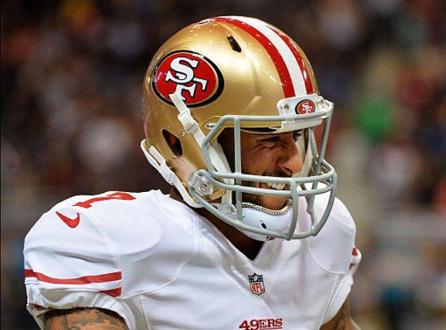 <3 Collin Kaepernick, 49ers vs Rams 10/13/2014-  49ers- 31, rams- 17