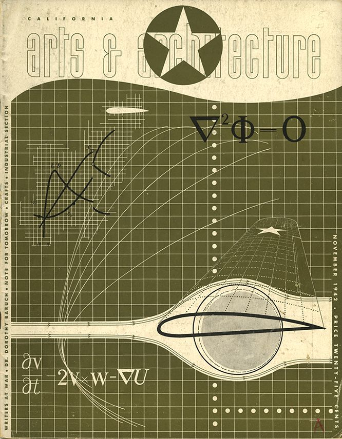 Between 1941 And 1947 Ray Eames Designed 27 Covers For Arts Architecture Magazine