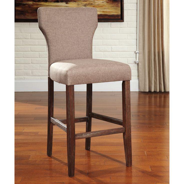 25 beste idee235n over Upholstered bar stools op Pinterest  : 35559c0696032a1d8074040a2a1c774a upholstered bar stools signature from nl.pinterest.com size 736 x 736 jpeg 70kB
