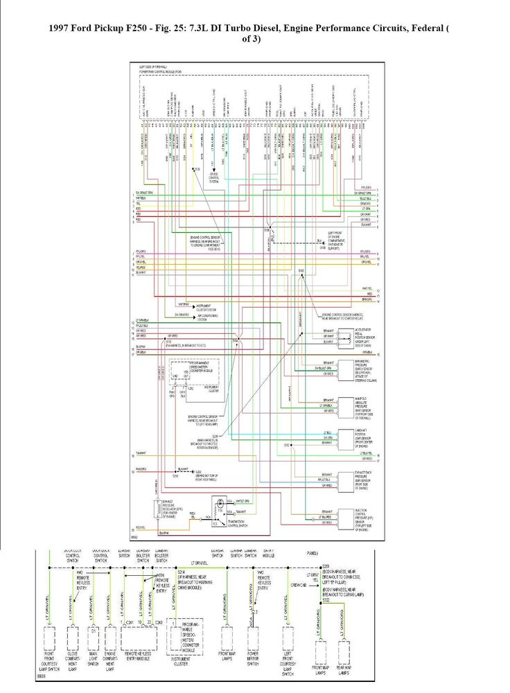 Where can I find a complete wiring schematic for a 1997 ...