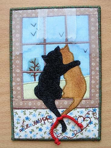 My fabric postcards/Мои лоскутные открытки - IrinaIric - Picasa Web Albums