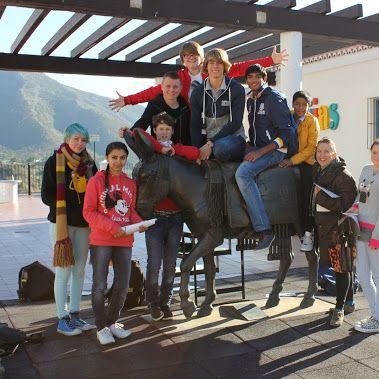 Fotos de la excursión a Mijas del aula ATAL del IES Villa de Mijas