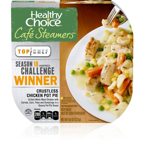 Crustless Chicken Pot Pie: Quite possibly my favorite frozen meal of all time.