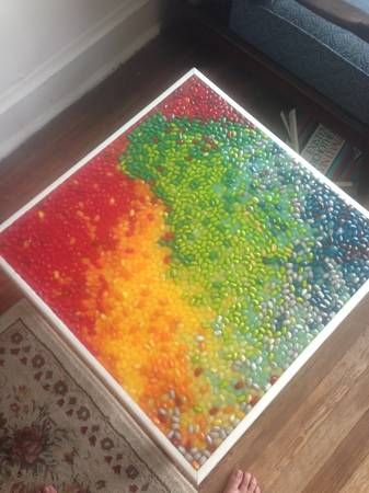 Jelly Belly table