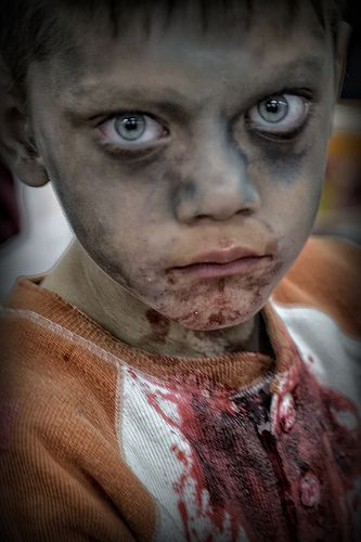 staring zombie child | Flickr - Photo Sharing!