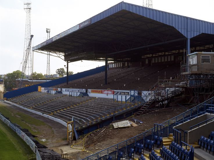 Chelsea west stand - Ah the good old days..
