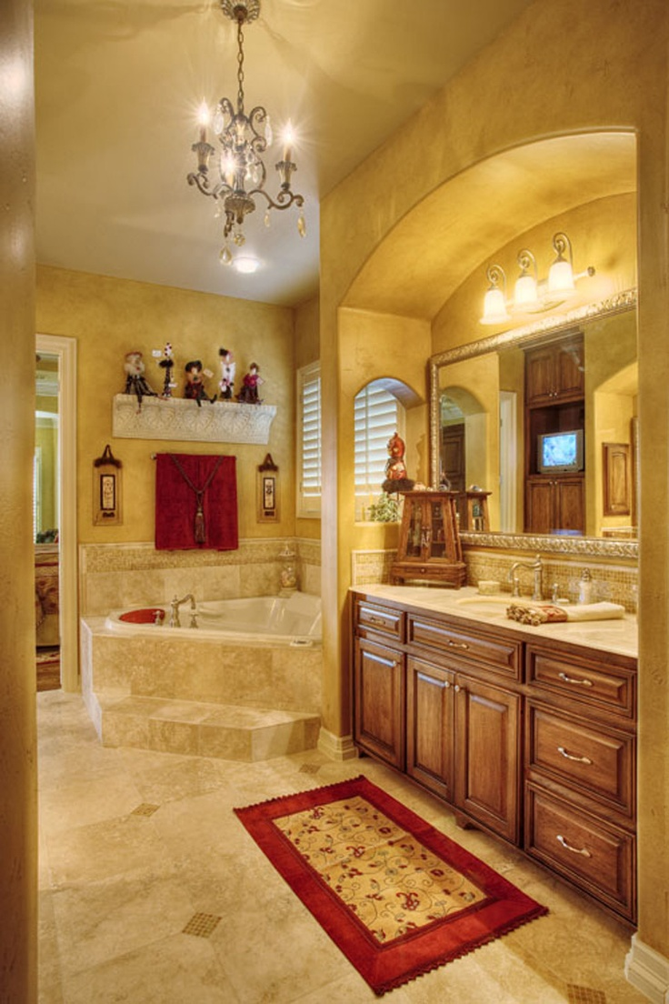 Custom Home Master Bath   Austin, TX