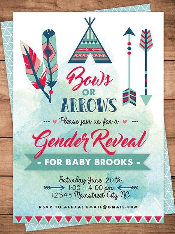 Best 25 Gender Reveal Invitations ideas – Clever Party Invitations