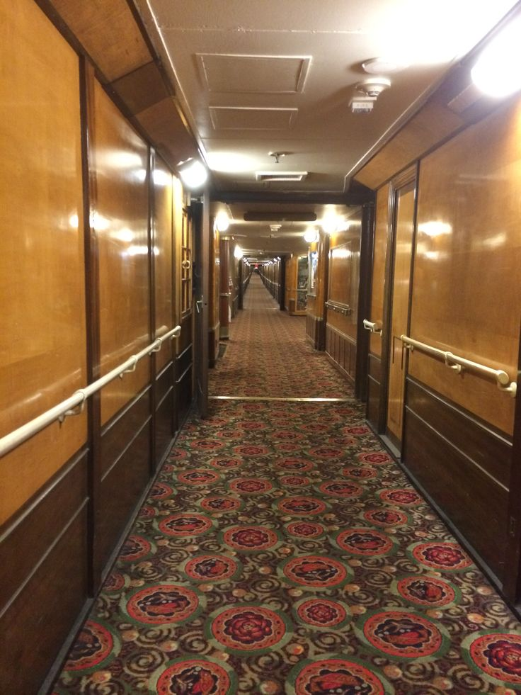 Hallway at the Queen Mary