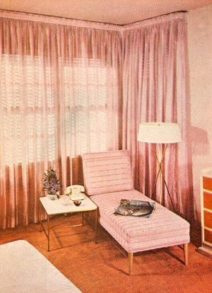 Girly corner. From Better Homes & Gardens Decorating Book, 1956