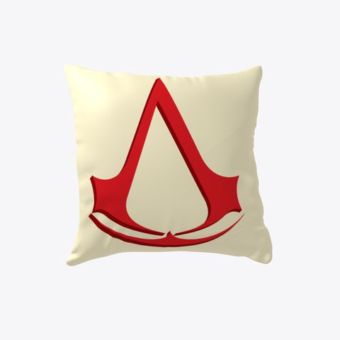 Assassin's Creed Pillow #Boosted Pillow Light Yellow T-Shirt Front