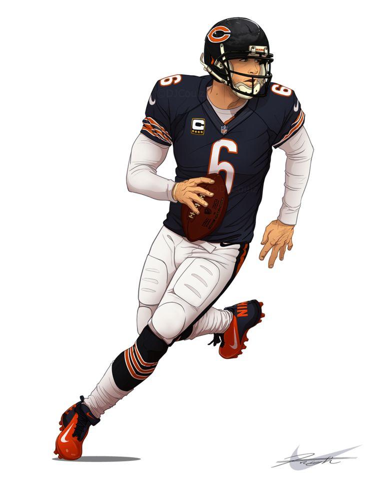Chicago Bears- Jay Cutler 6. Chicago Bears- Jay Cutler 6 Under Discount NFL  Jerseys ... ba5f952f8