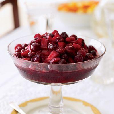 Cranberry Sauce with Apples and Port  - Delish.com